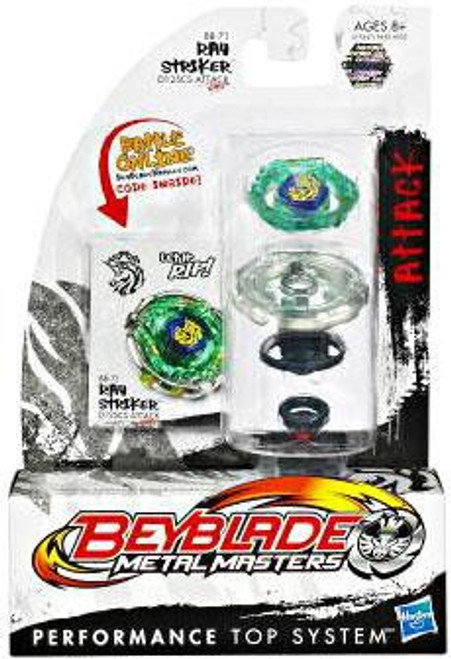Beyblade Metal Masters Ray Striker Single Pack BB-71