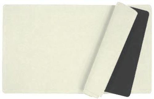Card Supplies White 12-Inch x 24-Inch Play Mat