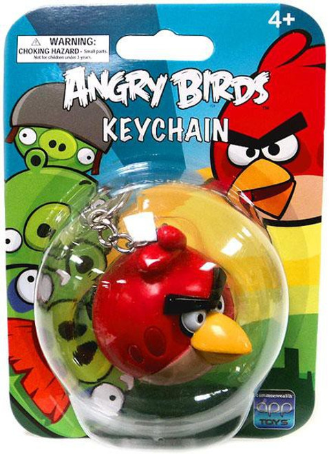 Angry Birds Red Bird Keychain