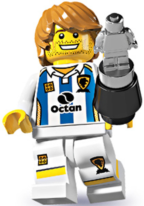LEGO Minifigures Series 4 Soccer Player Minifigure [Loose]