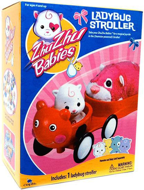 Zhu Zhu Pets Babies Ladybug Stroller Playset