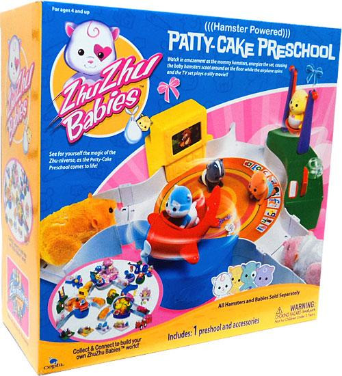 Zhu Zhu Pets Babies Patty-Cake Preschool Playset