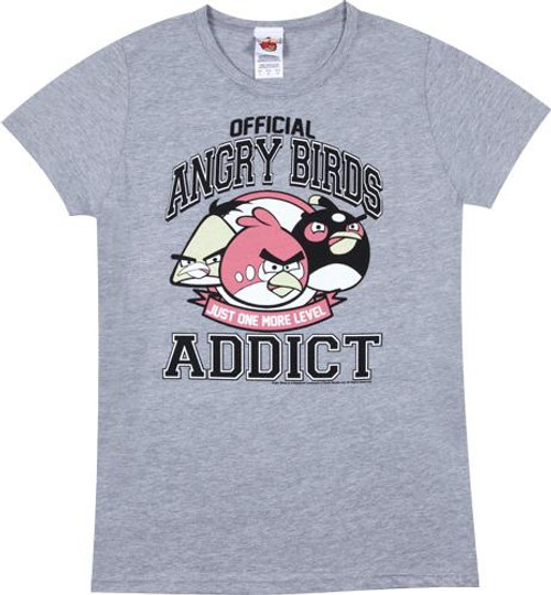 Angry Birds Addict T-Shirt [Women's]