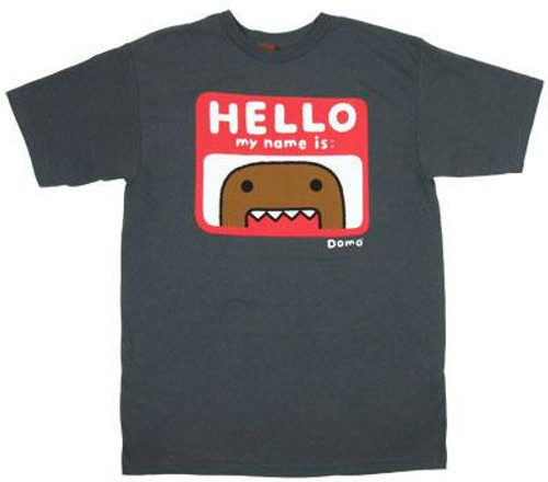 I Am Domo T-Shirt [Adult XXL]