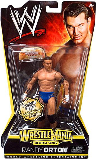 WWE Wrestling WrestleMania Heritage Series 2 Randy Orton Action Figure [With Chair]