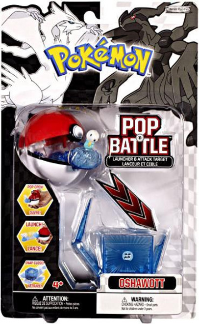 Pokemon Black & White Series 1 Pop n' Battle Oshawott Launcher