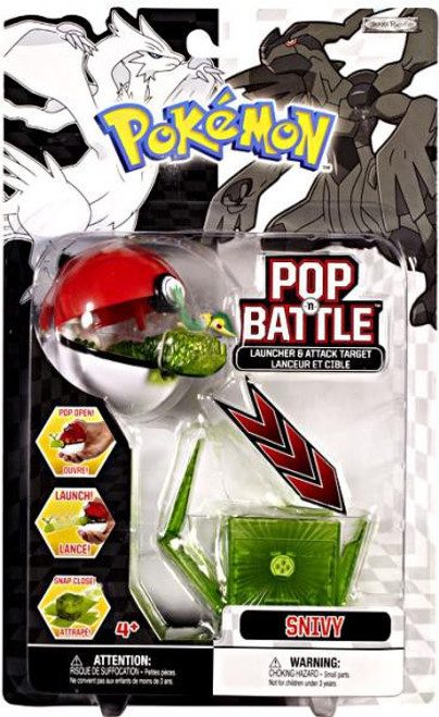 Pokemon Black & White Series 1 Pop n' Battle Snivy Launcher