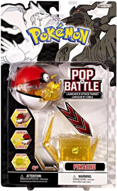 Pokemon Black & White Series 1 Pop n' Battle Pikachu Launcher