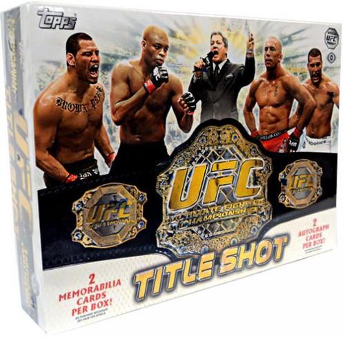 UFC 2011 Title Shot Trading Card Box