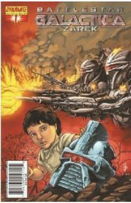 Battlestar Galactica: Zarek Comic Book #1 [Cover A]