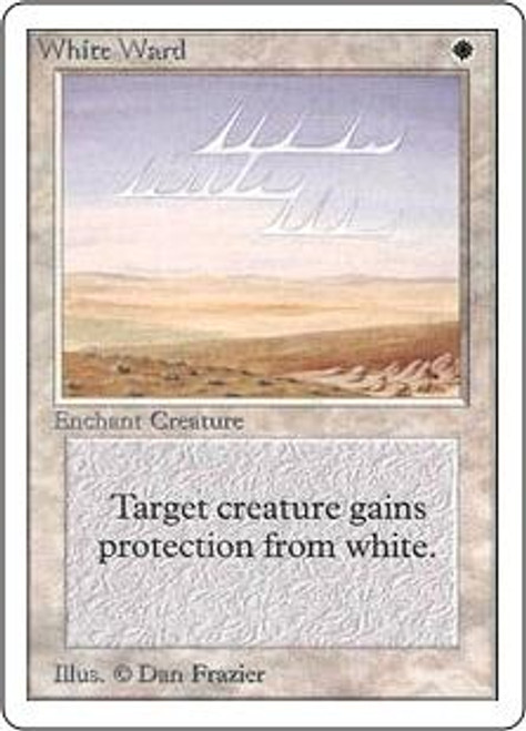 MtG Unlimited Uncommon White Ward