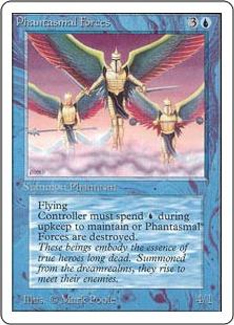 MtG Unlimited Uncommon Phantasmal Forces