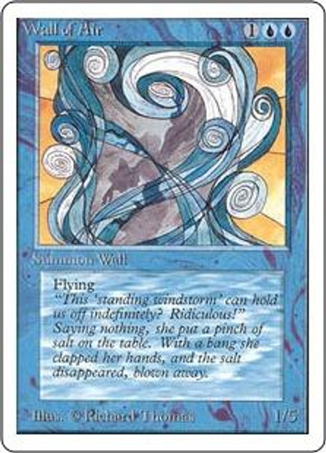MtG Unlimited Uncommon Wall of Air