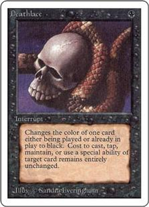 MtG Unlimited Rare Deathlace
