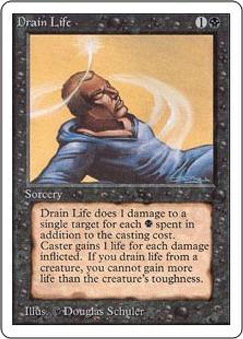 MtG Unlimited Common Drain Life
