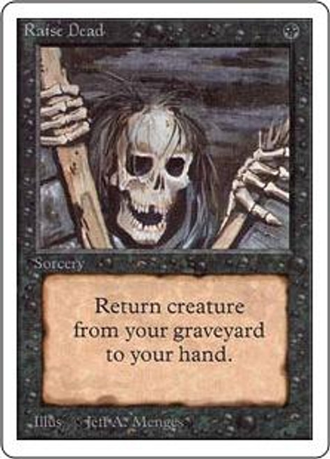 MtG Unlimited Common Raise Dead