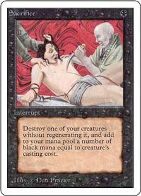 MtG Unlimited Uncommon Sacrifice