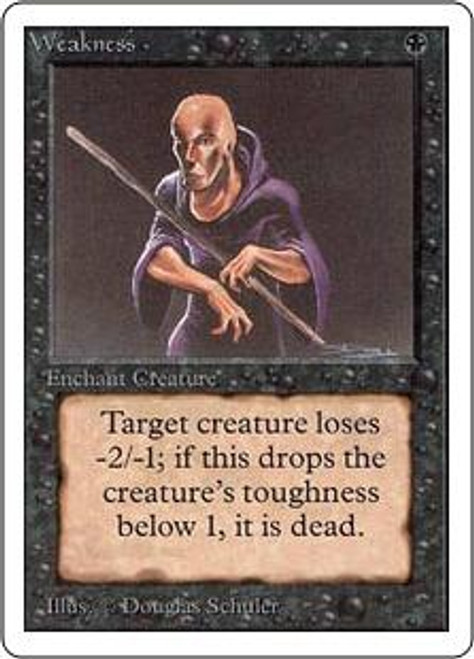 MtG Unlimited Common Weakness