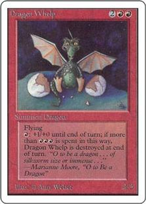 MtG Unlimited Uncommon Dragon Whelp