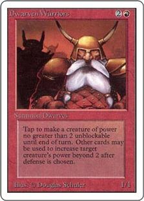 MtG Unlimited Common Dwarven Warriors