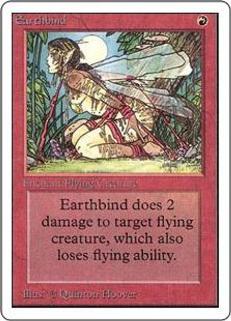 MtG Unlimited Common Earthbind