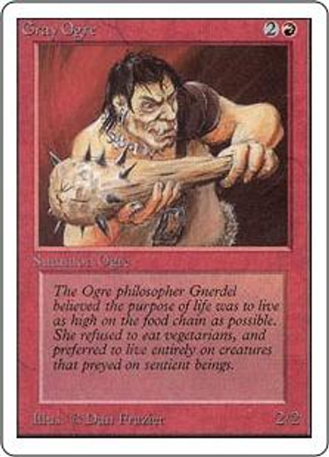 MtG Unlimited Common Gray Ogre