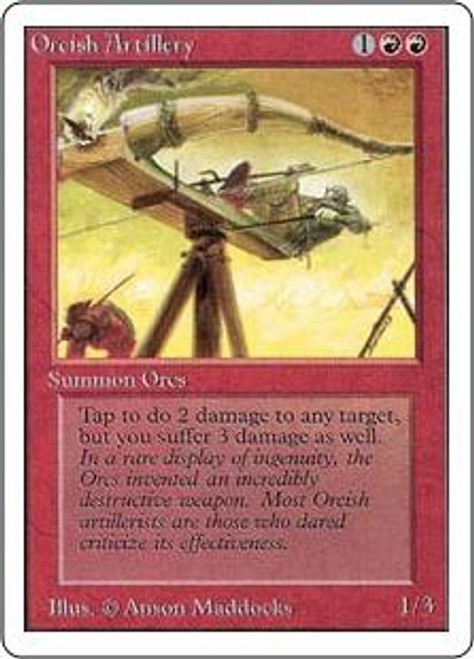 MtG Unlimited Uncommon Orcish Artillery
