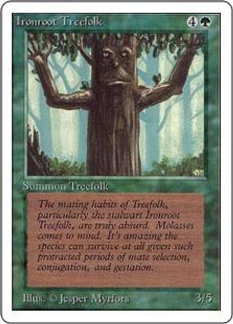 MtG Unlimited Common Ironroot Treefolk