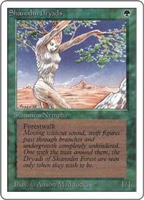MtG Unlimited Common Shanodin Dryads
