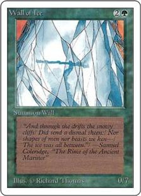 MtG Unlimited Uncommon Wall of Ice