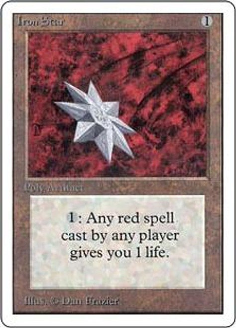 MtG Unlimited Uncommon Iron Star
