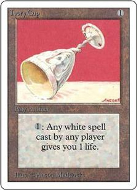 MtG Unlimited Uncommon Ivory Cup