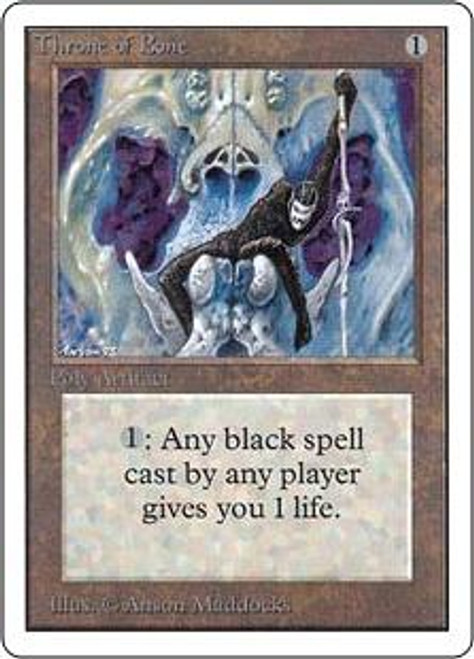 MtG Unlimited Uncommon Throne of Bone