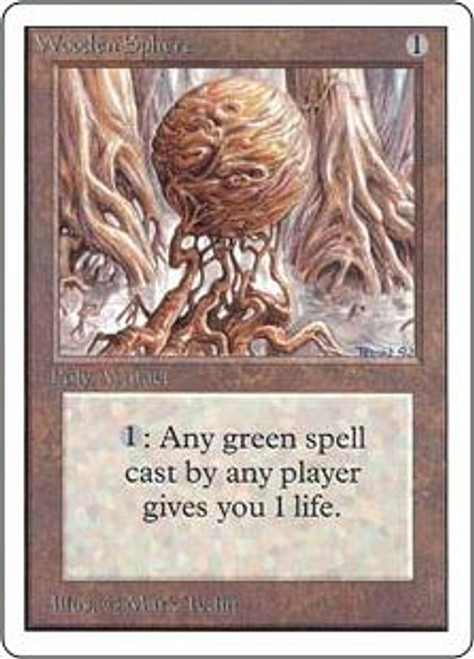 MtG Unlimited Uncommon Wooden Sphere