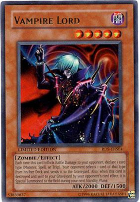 YuGiOh Rise of Destiny Special Edition Ultra Rare Vampire Lord RDS-ENSE4