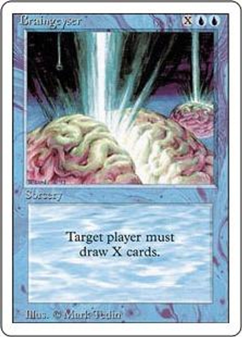 MtG Revised Rare Braingeyser