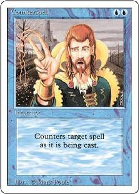 MtG Revised Uncommon Counterspell