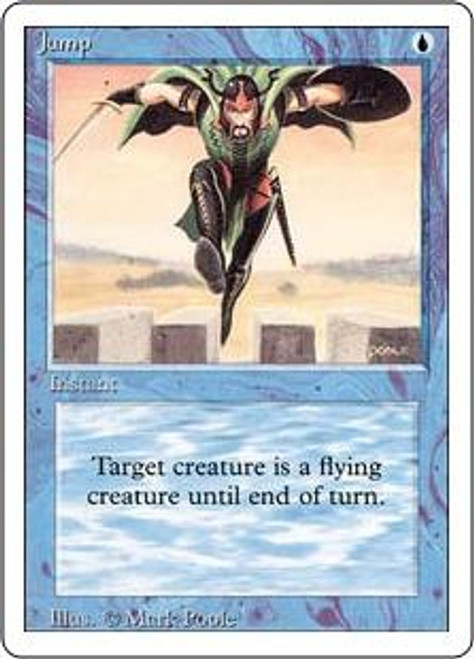 MtG Revised Common Jump