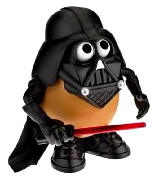 Star Wars Darth Tater Mr Potato Head Figure
