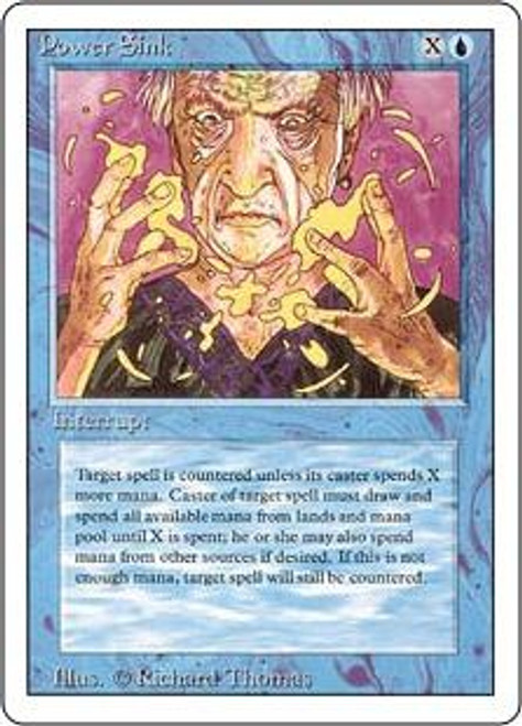MtG Revised Common Power Sink