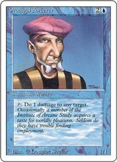 MtG Revised Common Prodigal Sorcerer