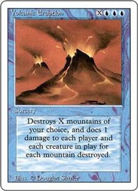 MtG Revised Rare Volcanic Eruption