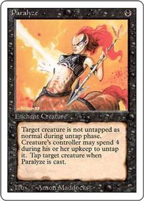MtG Revised Common Paralyze