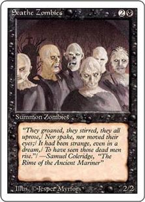 MtG Revised Common Scathe Zombies