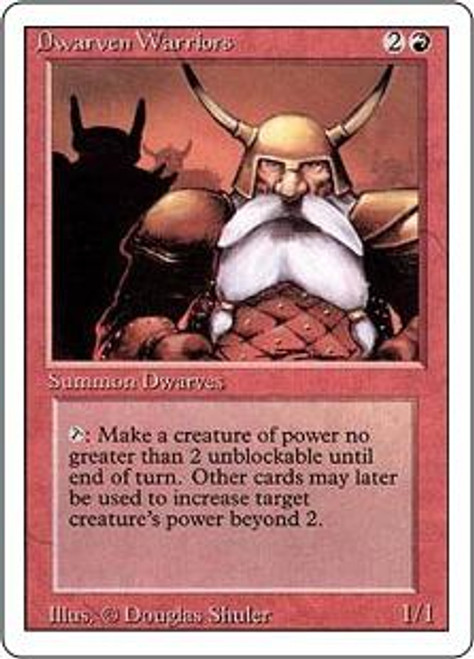 MtG Revised Common Dwarven Warriors