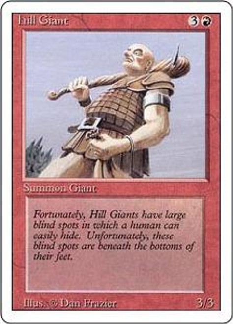 MtG Revised Common Hill Giant