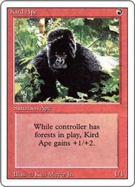 MtG Revised Common Kird Ape