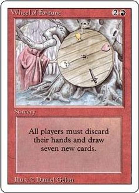 MtG Revised Rare Wheel of Fortune