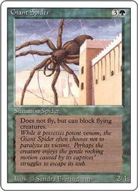 MtG Revised Common Giant Spider