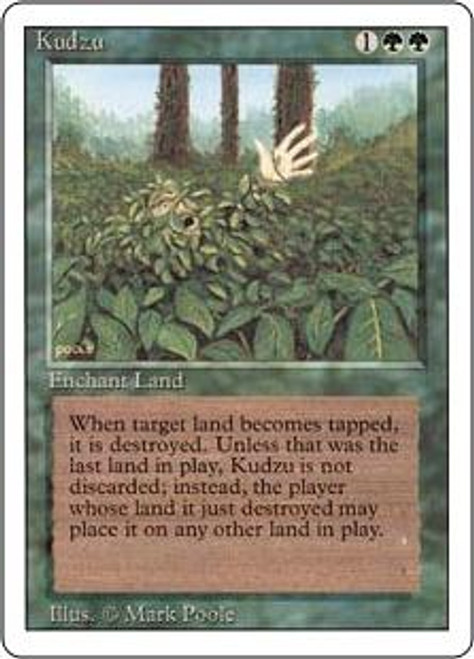 MtG Revised Rare Kudzu